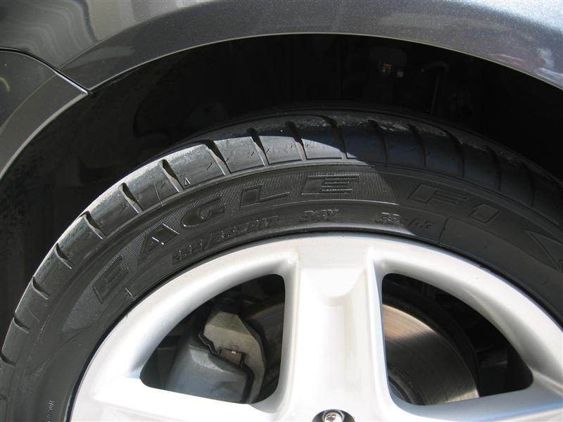 Acuratires on 2004 Acura Tl Tire Size