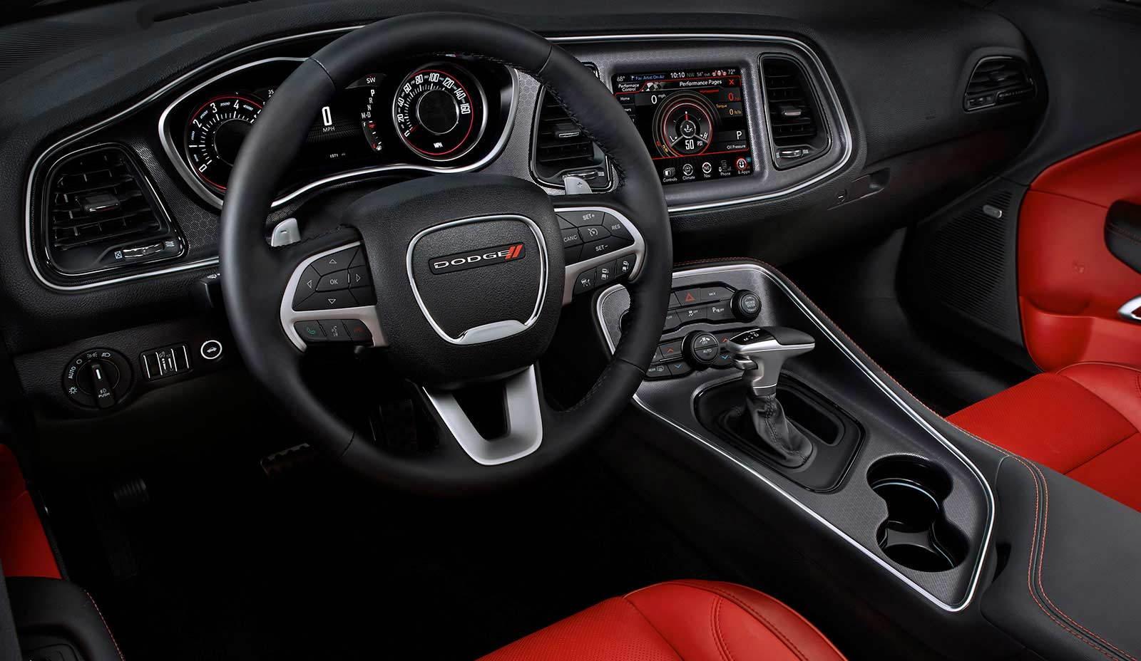 Dodge Challenger 2018 Dodge Challenger Interior