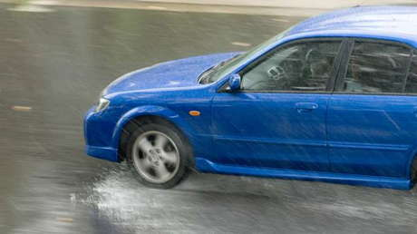 Hydroplaning