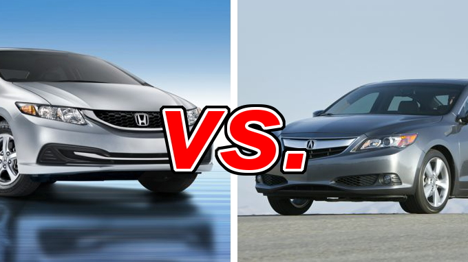 honda civic vs acura ilx carsdirect 2016 ilx vs 2015 honda civic ex ...
