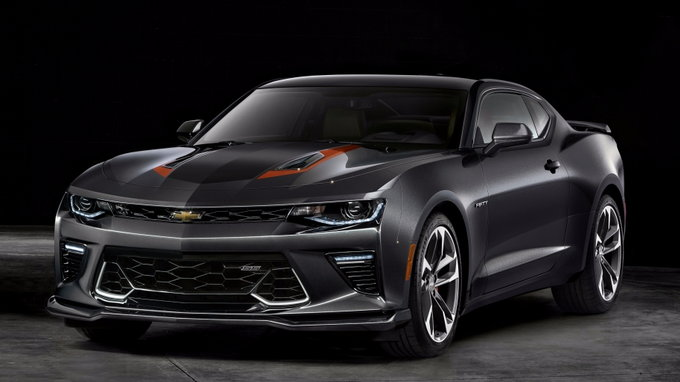 2017 Chevy Camaro 50th Anniversary Edition Priced From
