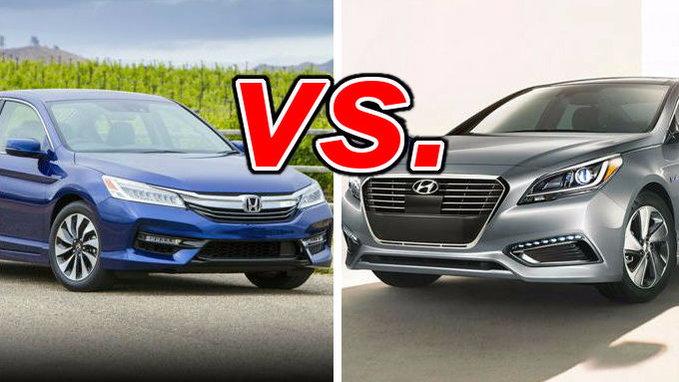 Honda accord hybrid vs hyundai sonata hybrid carsdirect for Hyundai sonata vs honda civic