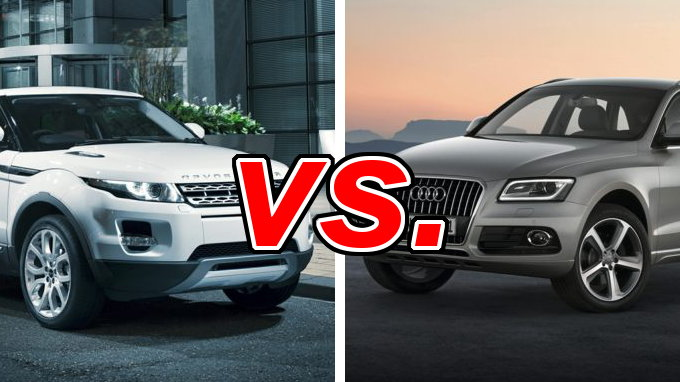 Subaru Outback Vs Forester >> Land Rover Range Rover Evoque vs Audi Q5 - CarsDirect