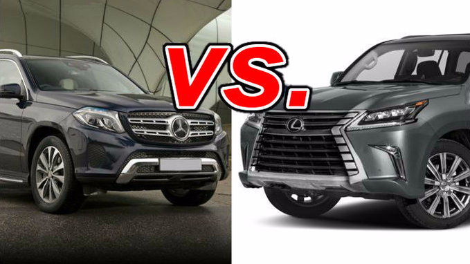 Mercedes benz gls450 vs lexus lx 570 carsdirect for Used mercedes benz gls450