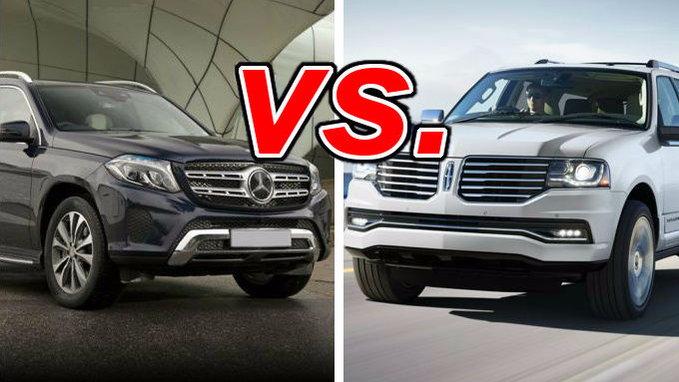 Forester Vs Outback 2017 >> Mercedes-Benz GLS450 vs. Lincoln Navigator - CarsDirect