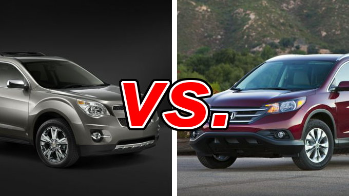 chevrolet equinox vs honda cr v carsdirect. Black Bedroom Furniture Sets. Home Design Ideas