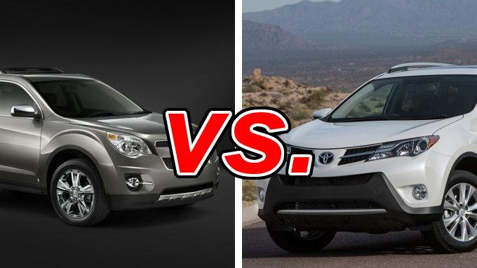 Build Your Own Subaru >> Chevrolet Equinox vs. Toyota RAV4 - CarsDirect