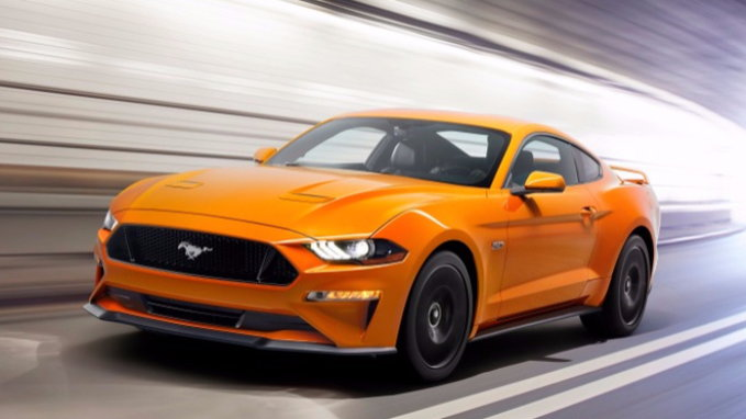 2018 Ford Mustang Adds Fresh Face & Digital Gauges - CarsDirect