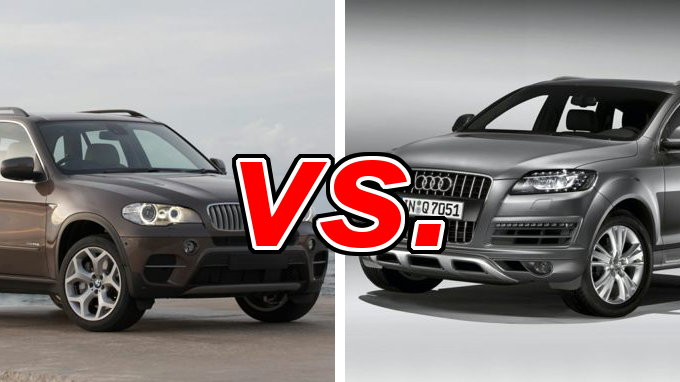 bmw x5 vs audi q7 carsdirect. Black Bedroom Furniture Sets. Home Design Ideas
