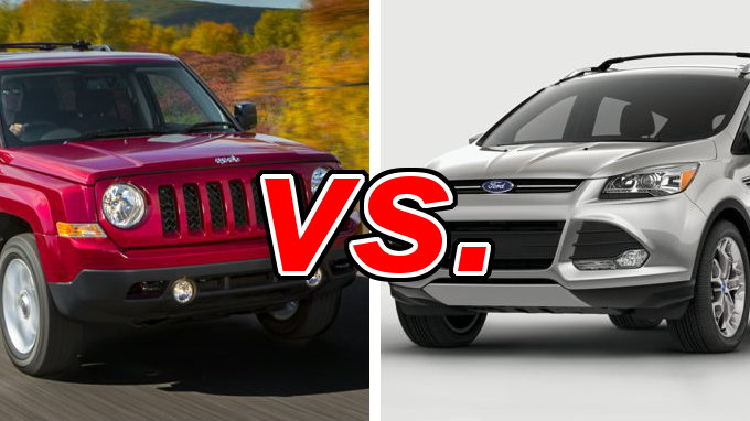 jeep patriot vs ford escape carsdirect. Black Bedroom Furniture Sets. Home Design Ideas