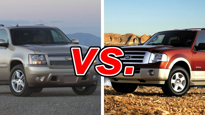 chevrolet tahoe vs ford expedition carsdirect. Black Bedroom Furniture Sets. Home Design Ideas