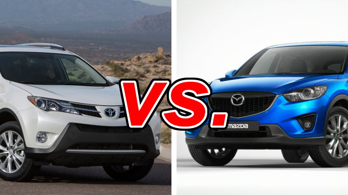 toyota rav4 vs mazda cx 5 carsdirect. Black Bedroom Furniture Sets. Home Design Ideas