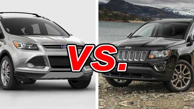 Outback Vs Forester >> Jeep Compass vs. Ford Escape - CarsDirect