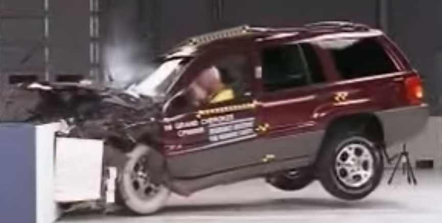 Jeep Grand Cherokee 1999 2004 Crash Test And Safety