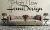 Make the Most of High/Low Interior Design