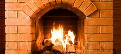 how to build a indoor fireplace with stone