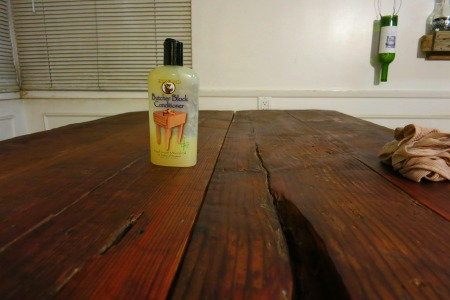 Reclaimed Wood, a Redwood Corral Becomes a Table - Reclaimed Wood: A Redwood Corral Becomes A Table DoItYourself.com