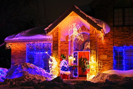 How to Attach Christmas Lights to Brick DoItYourself.com
