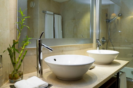 how to install a modern bathroom sink