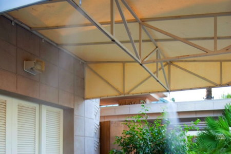 how to install patio misters