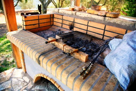 How to Build a Outdoor Grill With Brick How to Build a Brick Barbecue