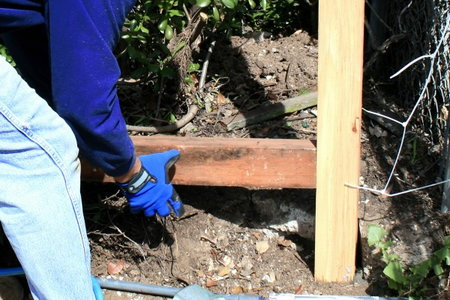 Repairing A Broken Fence Post Doityourself Com