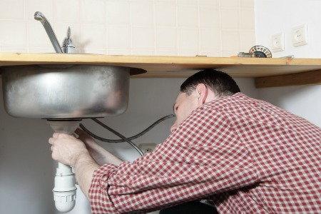 Installing a sink - Degrassatore cucina ...