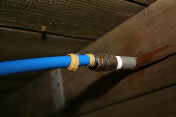 Hot topics what made this pex connection pop