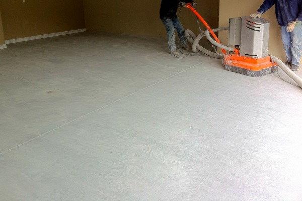 Making a Polished Concrete Floor   DoItYourself.com