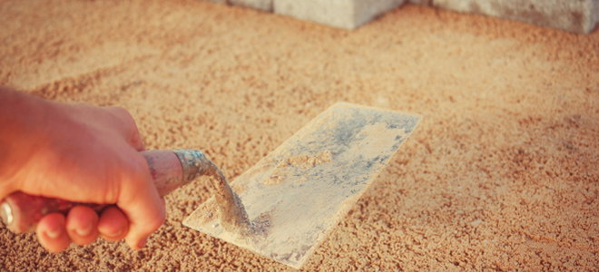 A Sand Base For A Paver Patio
