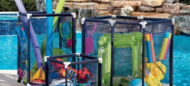 Pool Equipment Storage Containers Toy Bin Extra Large Bins
