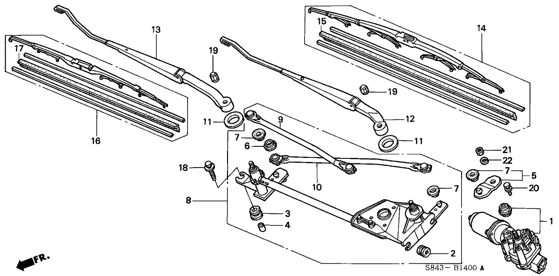 wiper linkage diagram  wiper  free engine image for user