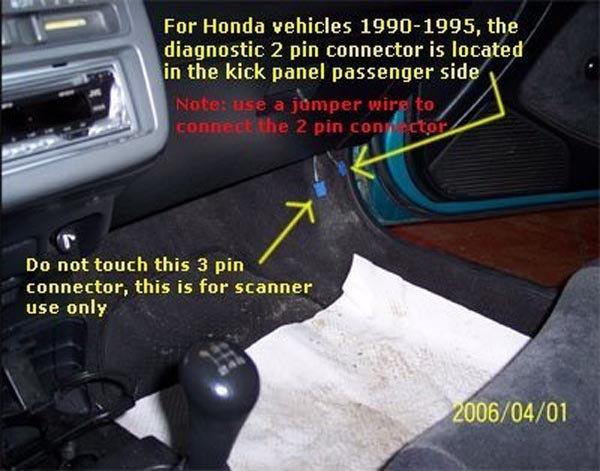2000 honda accord obd port location  2000  free engine