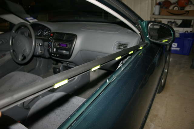 Honda Civic How to Replace Window Molding - Honda-Tech