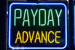 Pay Day Loans Sign