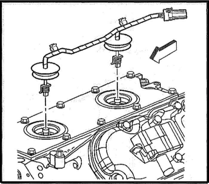 camaro and firebird how to replace knock sensor