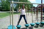 Jessica K. in the park