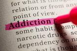 highlighted addiction text