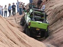 Dodge T-Rex climbs well.