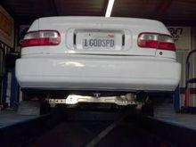 godspeed coupe b20vtec....