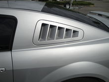 Flush-mount louver from SHR installed