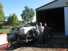 MARY, LARRY, DAVID & MUSTANG 10 24 07