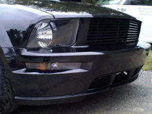 Bumper lights and Grille