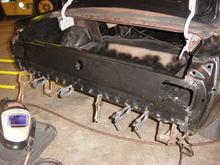 tailight panel tacked