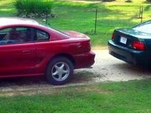 95 GTS and '00 V6