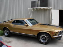 Rare 1970 Ford Mustang Mach 1 Super Cobra Jet Going up for Auction