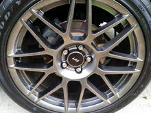 SVT Rims with GoodYear F2 Supercar tires.