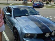 Garage - Moody Blue
