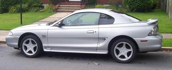 98 Mustang GT Manual