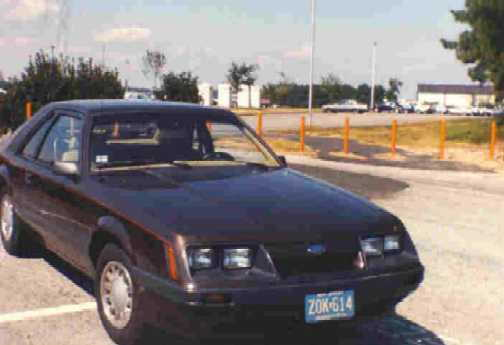 Another view of the old 4 cyl college car, cost about 9,000 bucks in '85